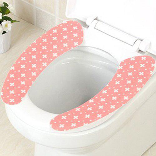 Strange Reusable Toilet Seat Stickers Cover 2Pcs Set Creativecarmelina Interior Chair Design Creativecarmelinacom