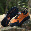 Male Trendy Slip-on Ventilate Sneakers - TANGERINE