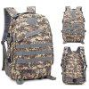 Outdoor Waterproof Oxford Student Bag Sports Backpack - DIGITAL WOODLAND CAMOUFLAGE