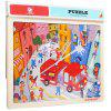 Topbright Kids Educational Wooden Puzzle Jigsaw Toy Set - MULTI