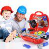 Simulation Tool Box Toy Gift for Kids 19pcs / Set - RED