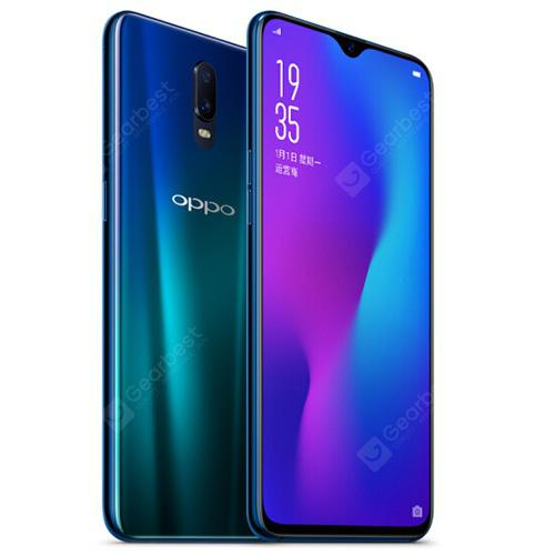 OPPO R17 4G Phablet English and Chinese Version - BLUE IVY  8+128GB
