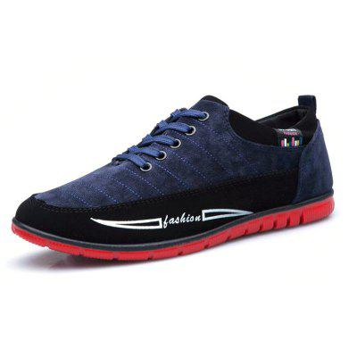 Male Fashionable Canvas Casual Shoes