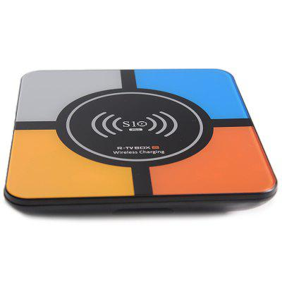 S10 PLUS TV Box with Wireless Charging