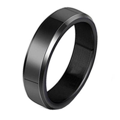 Stainless Steel Fashion Simple Smooth Ring