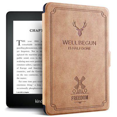 Flip Case Auto Sleep / Wake Function for Kindle Paperwhite 1 / 2 / 3