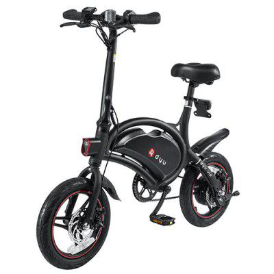 F - wheel DYU D3 Aluminum Alloy Smart Folding Electric Bike Image