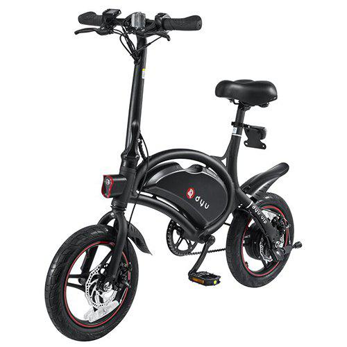 F - wheel DYU D3 Aluminum Alloy Smart Folding Electric Bike