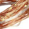 KPSSDD 10m 100-LED USB Decoration Light Strip - COPPER