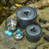 Aotu AT6387 Outdoor Portable Waterproof Stove - SILVER