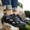 Outdoor Breathable Shock-absorbing Hiking Sports Shoes - BLACK