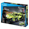 CaDA Creative DIY Building Block Car Assembled Toys - GREEN SNAKE