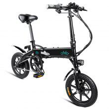 FIIDO D1 Folding Electric Bike Moped Bicycle E-bike -  10.4AH BATTERY (2 couleurs à choisir)   noir et blanc