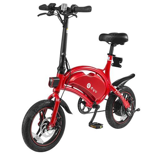 F-wheel DYU D3 Aluminium Alloy Smart Folding Electric Bike