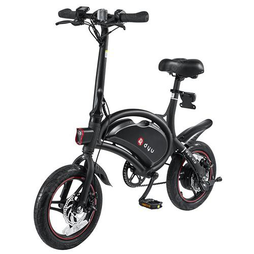 F - kolieska DYU D3 zliatina hliníka Smart Folding Electric Bike