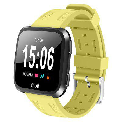 Hollow Silicone Replacement Watch Band for Fitbit Versa