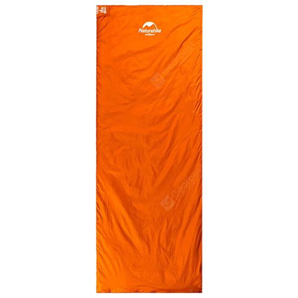 NatureHike Widen One Person Lightweight Sleeping Bag - ORANGE