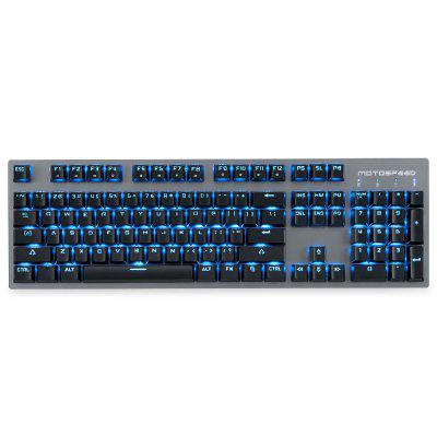 Motospeed GK89 2.4GHz Wireless / USB Wired Mechanical Keyboard - BLACK