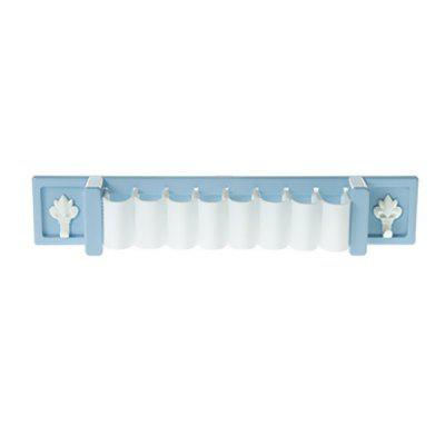 Self Adhesive Plastic Brush Holder for Kitchen and Bathroom