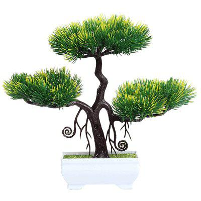 Simulation Welcome Pine Fake Bonsai Potted Plant