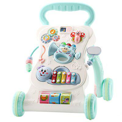 Multifunctional Speed Control Music Baby Walker