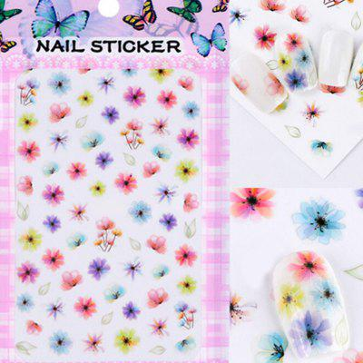 Fashionable Creative Convenient 3D Nail Art Sticker