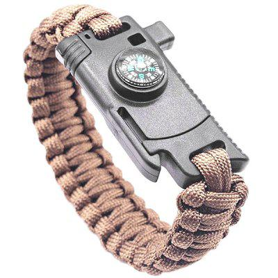 Multifunctional Survival Bracelet Emergency Tool