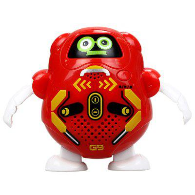 Recording Changeable Face Robot Electric Interactive Toy