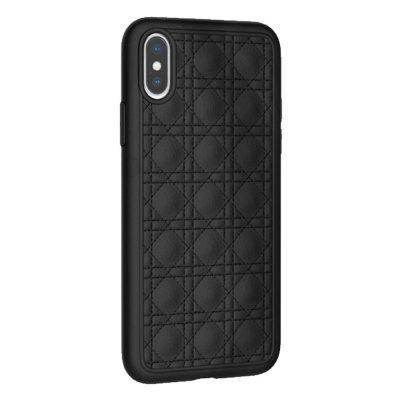 Gocomma 6.1-inch Classic Grain Mobile Phone Soft Case for iPhone 9