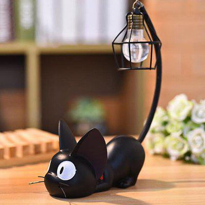 Criativo Resina Artware Cat Shape Table Lamp