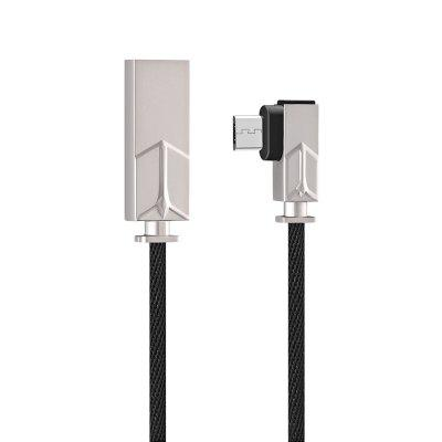 gocomma Jeans Fabric 2A Micro USB Cable 1m - BLACK