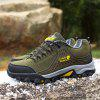 Thickening Suede Mountaineering Shoes for Men - KHAKI