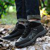 Winter Leisure Outdoor Warm Boots for Male - BLACK