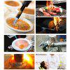 Kitchen Butane Culinary Torch Chef Cooking Adjustable Flame Lighter - BLACK