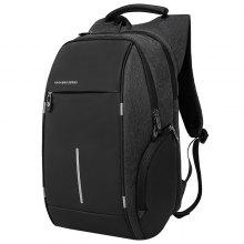 KAKA Waterproof USB Charging Laptop School Backpack only $30.26 with coupon