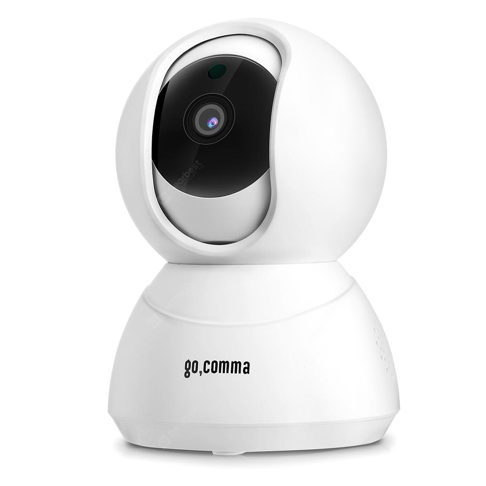 gocomma Lilliput-001 1080P WiFi Security IP Camera 2MP - WHITE EU PLUG