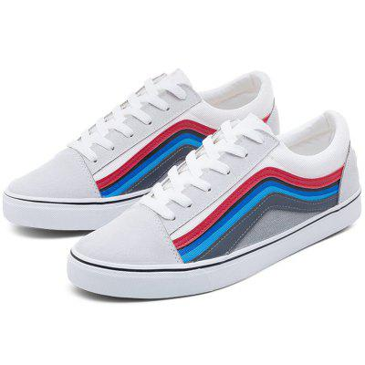 Summer Autumn Personality Student Canvas Casual Shoes for Man