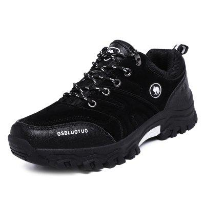 Outdoor Wear-resistant Lace-up Hiking Men Sneakers