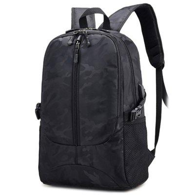 Casual Oxford Fabric Waterproof Backpack