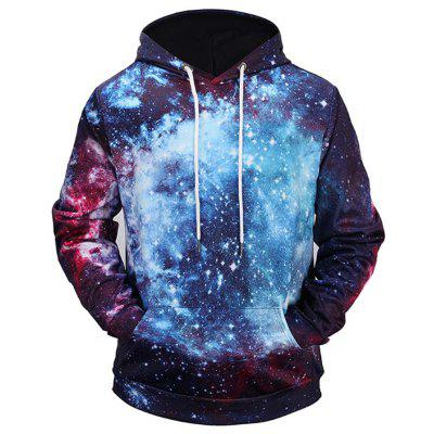 Men 3D Star Pattern Ultra-thin Hoodie