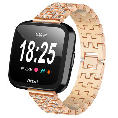 Fashion Design Alloy Watch Band for Fitbit Versa