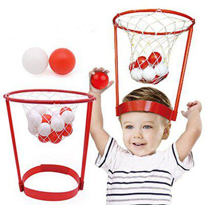 Head Basketball Game Educational Kid Toy Interaction Shot Basket