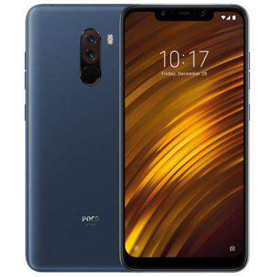 Gearbest Xiaomi Pocophone F1 6GB RAM 4G Phablet Global Version - SLATE BLUE 6GB RAM 64GB ROM 20.0MP Front Camera Fingerprint Sensor