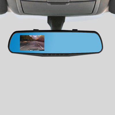 HD Dash Cam Rear View Mirror Car Video Recorder 1PC