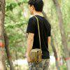 Outdoor Travel Sports Shoulder Sling Bag Casual Waistbag - LIGHT KHAKI