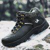 Thickened Outdoor Waterproof Men Sports Shoes - BLACK