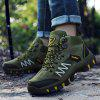 Outdoor Anti-slip Casual Durable High-top Hiking Shoes - ARMY GREEN