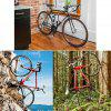 Bicycle Parking Wall Buckle Mountain Bike Stand Rack - SCARLET