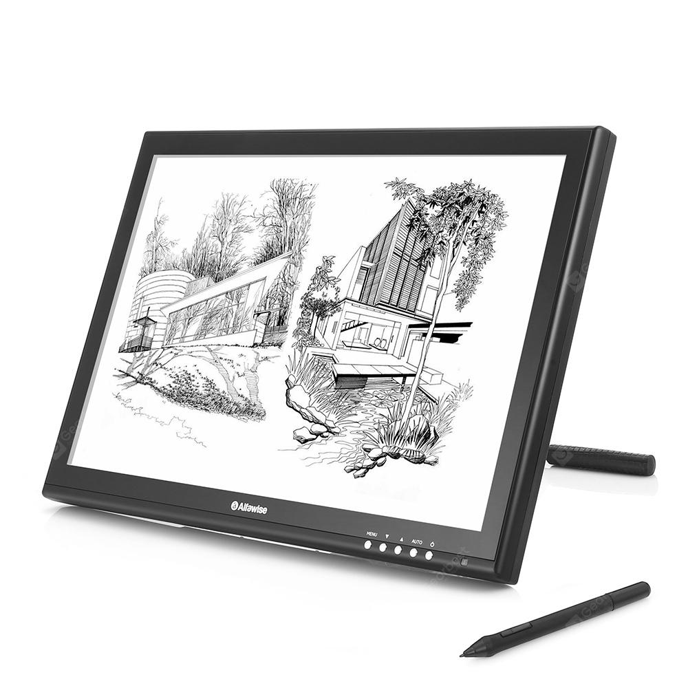 Alfawise AP - 1910 USB Wired Graphics Tablet 8192 Level 2000LPI - BLACK EU