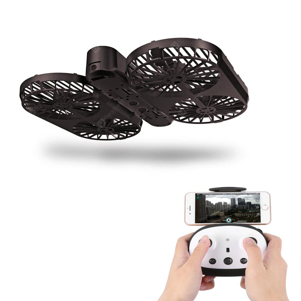 SIMTOO MOMENT II GPS Explorer Foldable Selfie Drone - DEEP COFFEE